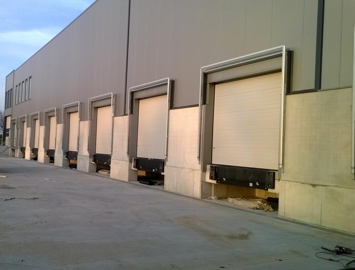 Projecten project logistiekcentrum for Holland deuren service